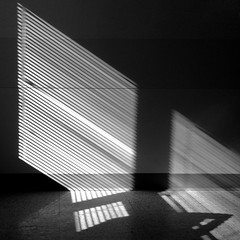 Blinds (StephenReed) Tags: blinds light shadow chiaroscuro abstract art abstractart squareformat stephenreed iphone5s