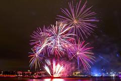Fireworks World Port Days (photo 1) (R. Engelsman) Tags: wereldhavendagen worldportdays 2016 rotterdam 010 netherlands nederland fireworks vuurwerk canon 650d night outdoor nl show rotjeknor