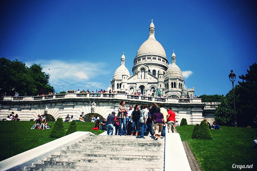 2016.10.02 ▐ 看我的歐行腿▐ 法國巴黎一日雙聖,在聖心堂與聖母院看見巴黎人的兩樣情 05