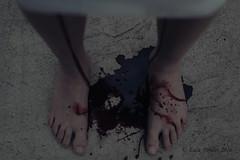 Loss.... (Lucz-) Tags: blood concept conceptual feet photography creative gothic fineart emotive creepy interesting lucz luczfowler selfportrait surreal talentedphotographers