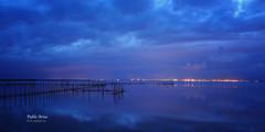 (301/16) Albufera azul (Pablo Arias) Tags: pabloarias photoshop photomatix nxd cielo nubes texturas albufera azul agua natura naturaleza valencia comunidadvalenciana