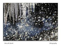 Acqua & Ghiaccio (Marcello Bardi) Tags: ice light nature water ghiaccio acqua winter boke luce marcellobardi italy picture