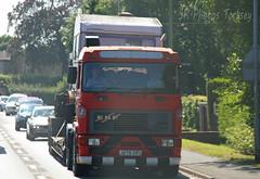 ERF Steam Engine Transport Ex John Brash J275 CFU (SR Photos Torksey) Tags: truck transport haulage hgv lorry lgv logistics road commercial vehicle freight traffic erf john brash