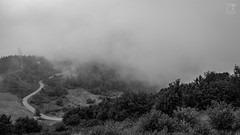 Clouds Blanket (Zano91) Tags: clouds sky grass panorama contrast rain nikon d7100 trees tree foreground background outdoor sigma 1835mm art mountain mountains mount penice colorful vibrant cloud meteo landscape bw bn black white blackandwhite monochrome mood moody mystery