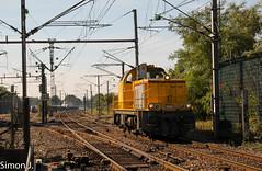 BB 60159 (bb_17002) Tags: chemin de fer véhicule train extérieur locomotive câble route champ paysages paysage creil persan beaumont landscapes voie ferrée hlp bb60000 infra sncf