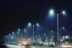 Night View of Hayatabad Peshawar (PeshawarX) Tags: streetlights peshawar peshawarcity pakistan pekhawar hayatabad hayatabadpeshawar