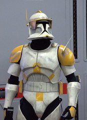 Commander Cody Hero (Two8five) Tags: 501 501st legion vadersfist starwars edmonton fanexpo edmontonexpo costume cosplay badlandsgarrison badlands commandercody clonetrooper propaganda heroshot