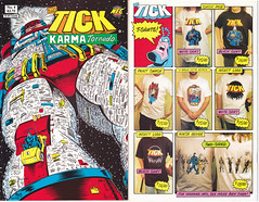 The Tick: Karma Tornado #4 - Living Together released by New England Comics on July 1, 1994 (vsndesigns) Tags: beta the tick vs arthur sentinel prime optimus successor townsend coleman lego minifig minifigure dcon 2014 ball mylar balloon buttons bonanza pencil indie shocker gbjr toys with tie and tshirt zombie in a steel box fox promotional totally kids magazine 45 club spoon taco bell meal commercial eli stone ben edlund little wooden boy comic book merchandise rare limited edition 80s 90s collector museum naked super hero heroine collection photo screen