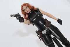 Mara Jade kitbash (kengofett) Tags: star wars expanded universe mara jade skywalker 16 female figure phicen kitbash