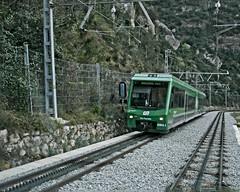 Montserrat Rack Railway (OSChris) Tags: montserrat spain monastery rackrailway
