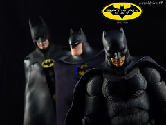 Legends (metaldriver89) Tags: batfleck batman batmantheanimatedseries theanimatedseries btas michaelkeaton 1989 batman1989 timburton tim burton michael keaton 25th anniversary action figure figures neca 7 inch actionfigure shadows dc movie comics toys custom cape acba display update indoor hottoys hot batmanneca blackandwhite brucewayne bruce wayne articulatedcomicbookart articulated comic book art tonymei tony mei customcape toy toyphotography toybiz dcmultiverse kenner darkknightcollection