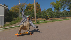 Jacob Croghan fall colors 5 (Codydownhill) Tags: skateboard skateboarding longboard longboarding downhill sports action panasonic lumix style urban