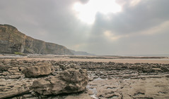 Treath Mawr (Andy.Gocher) Tags: andygocher canon100d canon1018mm europe uk wales southwales southerndown dunravenbay treath mawr beach clouds water rocks