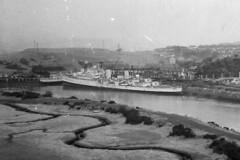 HMS Bellona (C63) (goweravig) Tags: bellona hms zambesi royalnavy destroyer cruiser d66 wales uk britonferry thomasward shipbreaker riverneath ships shipping c63 hmsbellona hmszambesi