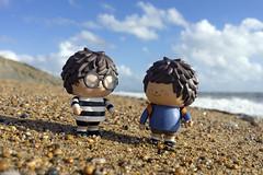 A walk along the beach at Jurassic coast (mediman30) Tags: ren treeson