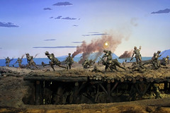AWM Diorama Lone Pine 6-August-1915 (NTG's pictures) Tags: canberra act australia australian war memorial