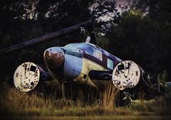 Grounded (dbs1953) Tags: inexplore plane airplanearkansasruralruralamericaoutdoorcolor