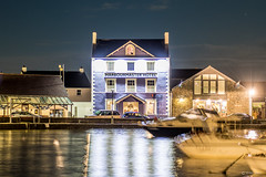 Harbourmaster Hotel (Shane Jones) Tags: harbourmasterhotel harbour hotel sea boats night aberaeron ceredigion wales nikon d500 2470mm