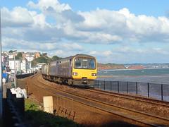 150243, 143618 & 143621 Dawlish (Marky7890) Tags: gwr 143621 class143 pacer 2t19 dawlish railway station devon train