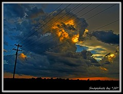 Stormy sunset (Snapshots by JD) Tags: dair oklahoma westville storms