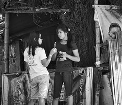 Share ? (Beegee49) Tags: street iced lolly filipina talking bacolod city philippines