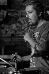 JTS_5527 WTF Dani Domínguez BW (Thundershead) Tags: wtf whatthefuck whatthefuckjamsessions jamsession jamboree barcelona jazz music musica musico musician directo live directe concert concierto