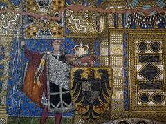Mosaics in Kaiser Wilhelm Memorial Church of Berlin (Sokleine) Tags: memorial glise church kirche souvenir gedchtniskirche kaiserwilhelm guillaume1er iconic highlight mn berlin wwii germany deutschland allemagne aigle eagle adler emperor kaiser empereur mosaics mosaque fresque history