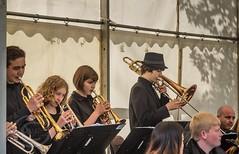 Marsden Jazz Festival 2016_0019 (Mark Schofield @ JB Schofield) Tags: marsden jazz festival 2016 huddersfield yorkshire musicians street people musical instrument dance ulverston band blast furnace