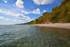 Water warmer than air. (dunescape) Tags: lakeontario scarboroughbluffs toronto fall