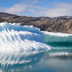 Meet & Greet an Iceberg (zeh.hah.es.) Tags: eisberg iceberg tasilaartik grnland greenland ostgrnland eastgreenland eis ice berg mountain rock wasser water meer sea fjord spiegelung reflection