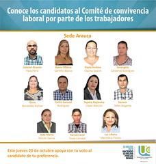 Candidatos Arauca (ucooperativadecolombia) Tags: candidatos sedes ucc comit de convivencia octubre universidadcooperativadecolombia