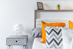 Liverpool City Rents (Nic Taylor Photography) Tags: sony sonyalpha a7r sonya7r sonyilce7r canon1635f4is canon interiordesignphotographercheshire interior interiordesign bedroom pillows pillow apartment
