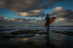 Enjoying life, one wave at a time (Eric Gail: AdventuresInFineArtPhotography) Tags: surfer surfboard lajolla sandiego
