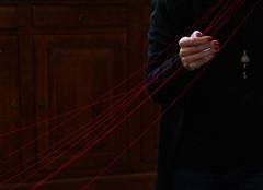 Hands (Georgie Pauwels) Tags: artist hands textile craft thread art weave