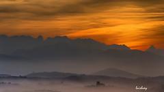 San Vicente y Picos (Luisluey) Tags: san vicente de la barquera picos europa nocturna montaas cantabria