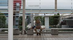Caught Napping! (RoTTeN aPPLe WaYFaReR) Tags: bench nikon d750 sigma art lens odaiba tokyo japan hat 50mmf14dghsm|a