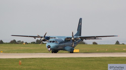 Irish Air Corps CN-235-100MPA 252 Manchester Airport