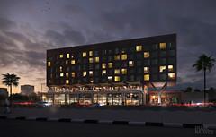 Hotel / KSA (Imagenatives) Tags: imagenatives architectural visualisation archviz