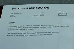 Swan Car - Baby Swan Car - Baby-Schwan - Cygnet (1920) (Mc Steff) Tags: swan car baby babyschwan cygnet 1920 schwan auto india indien louwman museum louwmanmuseum retroclassicsmessestuttgart2016 elektroauto ecar electric electriccar