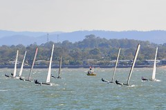 DSC_0283 (LoxPix2) Tags: loxpix queensland australia sailing catamaran trimaran nacra hobie arrow moth 505 maricat humpybongyachtclub humpybash aclass f18 mosquito laser bird spinnaker woodypoint