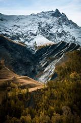 Mountain portrait (Julie. D) Tags: montagne mountain meije lagrave meleze paysage landscape nature alpes alps grance frenchalps crins parcdescrins nikon d7100
