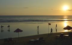 Seminyak Beach (austinjosa) Tags: beach bali indonesia seminyak seminyakbeach dusk sunset island seaside surfers tropical