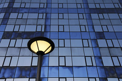 - Monday Blues - (Jacqueline ter Haar) Tags: monday blues blue office voorburg lamp grafisch colours