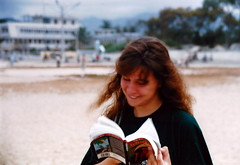 1996 China Beach a travelling Companion (tuandeen007) Tags: 1994 a girl i met while travelling