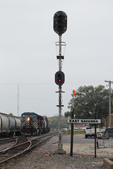 CEFX 1053 (cc8039) Tags: cefx ice dme milw cp trains ac44cw signal savanna illinois