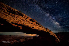 Mesa Arch Milky Way (MyKeyC) Tags: mesaarch arch canyonlands milky way stars night utah