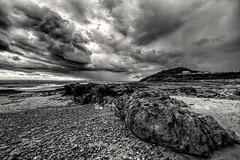 The Gathering Storm (Jon_Wales) Tags: europe wales welsh cymru swansea mumbles gower storm seaside sea rain clouds stormy weather autumn britain
