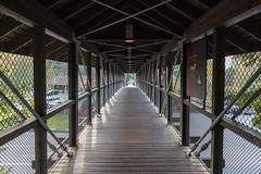Geometric (jeff's pixels) Tags: bridge shapes geometric walkway snoqualmie falls