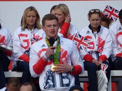 Adam Peaty (Suede Bicycle) Tags: olympics rio rioolympics rio2016 olympicgames heroeswelcome trafalgarsquare summerolympics olympicparade paralympics rioparalympics