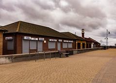 The empty promenade at Hornsea (lash1978) Tags: fish chip shop hornsea